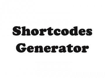 zf shortcodes genterator