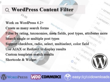 wordpress-content-filter-site